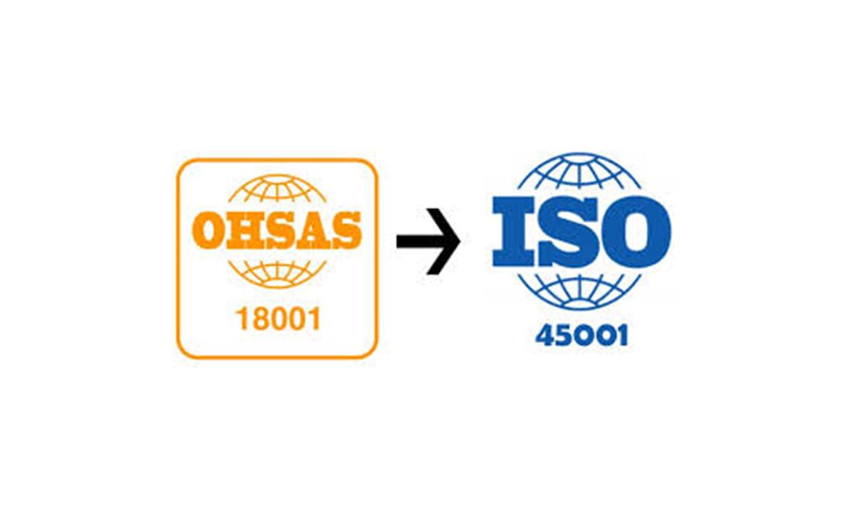 Transición a la Norma ISO 45001